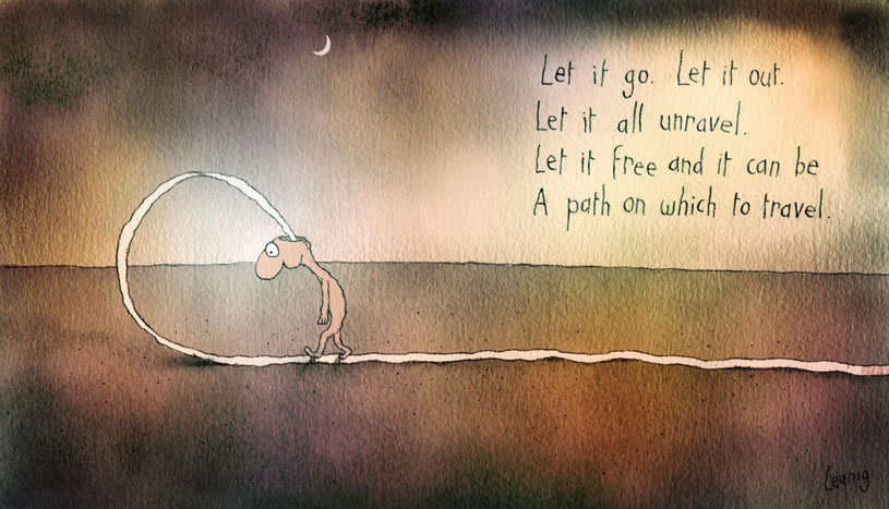 Let it go leunig analysis essay