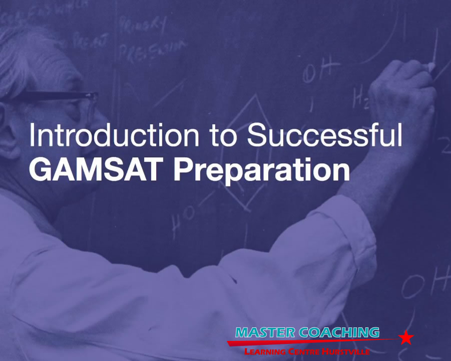 gamsat exam preparation